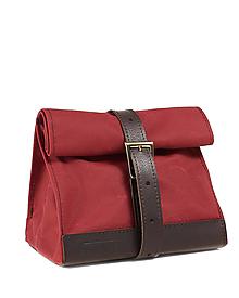 Iné tašky - Červený lunchbag. Obedar. - 12173901_
