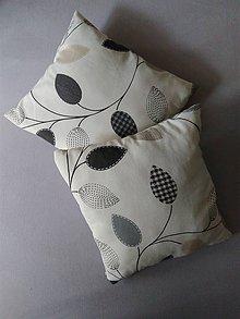 Úžitkový textil - Obliečka na vankúš listy - 12173825_