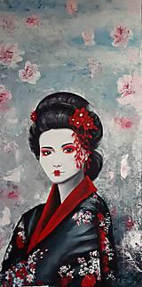 Obrazy - Geisha - 12175345_