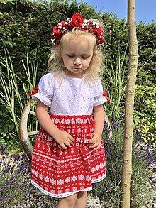 Detské oblečenie - Folklórne (ľudové) šatičky Čičmany - 12175733_