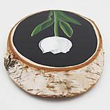 Obrazy - Tulipán - maľba na drevo - 12173822_