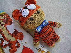 Hračky - mini bábika tigrík - 12177275_