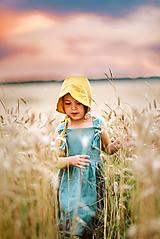 Detské oblečenie - Trakové šaty MILANO - 12176439_