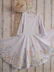 """Detské oblečenie - Ručne maľované šaty """" Botanical """" - 12176174_"""