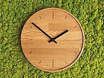 Hodiny - Marc Round Clock 30cm s ciferníkom a tichým strojčekom - 12177510_