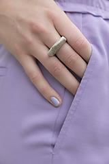 Prstene - Betónový prsteň - 12176392_