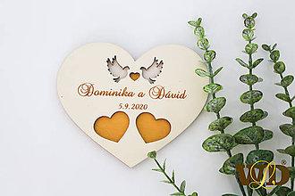 Prstene - Tanierik na obrúčky - 12177341_