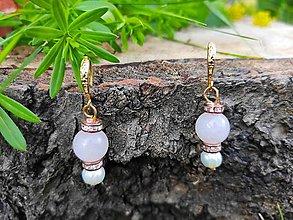 Náušnice - Náušnice s perlou. - 12178625_