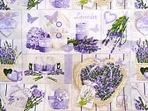 Úžitkový textil - Bavlnené vrecúška na levanduľu PRÁZDNE (Vzor 9.) - 12177938_