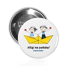 Drobnosti - ODZNAK Malí námorníci (2 textové verzie) - 12175948_
