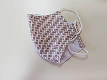 Rúška - Panske bavlnene dizajnove rusko - 12178046_