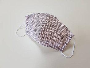 Rúška - Panske bavlnene dizajnove rusko - 12178043_