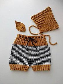 Detské oblečenie - Pruhované kraťasy - 12177244_