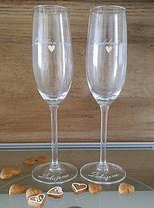 Nádoby - Svadobná mama, pohár s poďakovaním - 12181867_