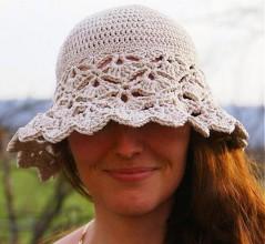 """Čiapky - """"Mary"""" klobúčik - 3474429_"""