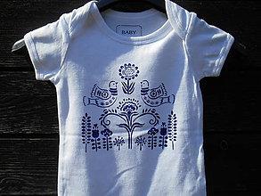 Detské oblečenie - folk body-bábätko - 12178922_