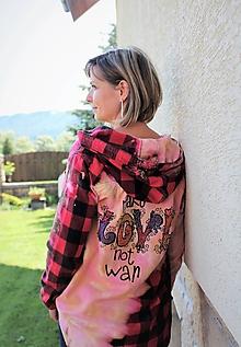 """Košele - flanelová košeľa """"teens"""" - 12179555_"""