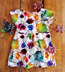 Detské oblečenie - Detské šaty Splash - 12181736_