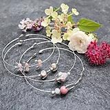 - Záhrada - náramky ružové - 12179518_
