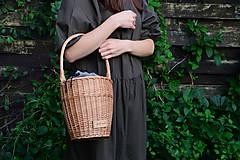 Kabelky - Prútená kabelka VERANO N°6 - 12181954_