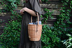 Kabelky - Prútená kabelka VERANO N°6 - 12181957_
