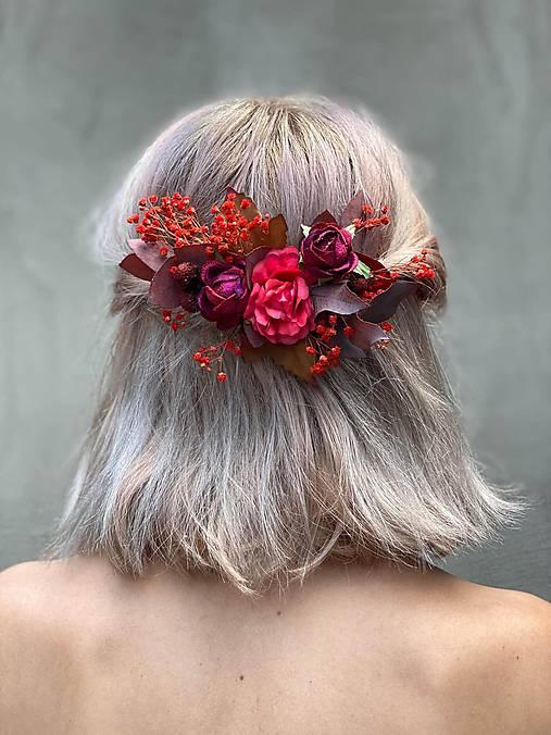 """Kvetinový hrebienok """"dúšok lásky"""""""