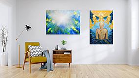 Obrazy - Art printy mojich obrazov - 12179278_