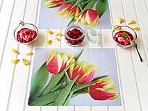 Autorské Foto Prostírání - Duše Tulipánů