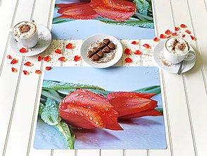 Úžitkový textil - Autorské Foto Prostírání - Dva pro lásku - 12179594_