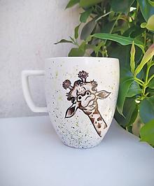 Nádoby - Hrnček žirafa - 12179904_