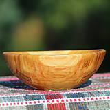 Nádoby - sada misiek z čerešňového dreva - 12181363_