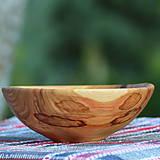 Nádoby - sada misiek z čerešňového dreva - 12181368_