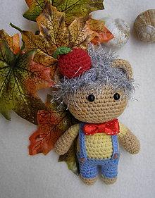 Hračky - mini bábika ježko - 12183178_