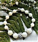 Náramky - Luxusná perleť- náramky - 12184517_