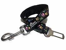Pre zvieratá - Pás pre psa do auta Coloured Paw - 12183201_