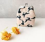 Peňaženky - Peňaženka Zajačiky - M - 12184308_
