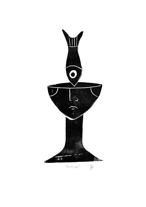 The Third Eye risograf print