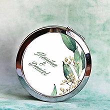 Zrkadielka - zrkadielko Greenery 2 - 12181986_
