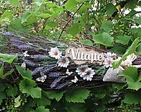 Dekorácie - Dekoračná metla z brezového prútia s vôňou levandule... - 12185237_