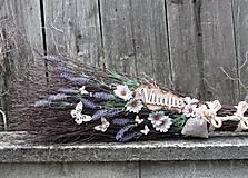 Dekorácie - Dekoračná metla z brezového prútia s vôňou levandule... - 12185239_