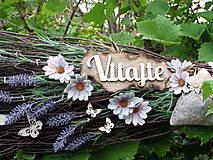Dekorácie - Dekoračná metla z brezového prútia s vôňou levandule... - 12185246_