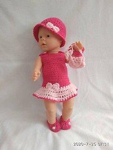 Hračky - bábika oblečko - 18 - 12185110_