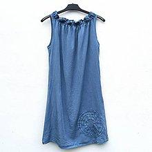 Šaty - Šaty Denim Spiral - 12186074_