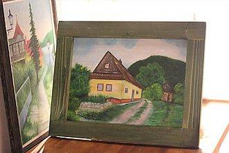 Obrazy - Chalúpka z Vlkolínca - 12186940_