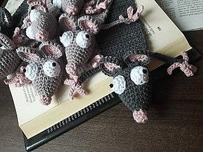 Papiernictvo - Záložka do knihy Myš - 12185536_
