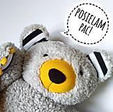 Textil - Vankúš Macko Brumla - 12185038_