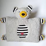 Textil - Vankúš Macko Brumla - 12185039_