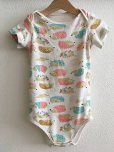 Detské oblečenie - Detské body na patentky - 12185005_