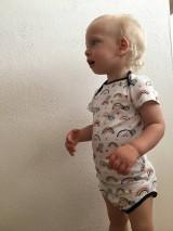 Detské oblečenie - Detské body na patentky - 12185014_