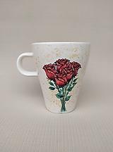 Nádoby - Hrnček - ruže ktoré nezvednú :-) - 12185272_